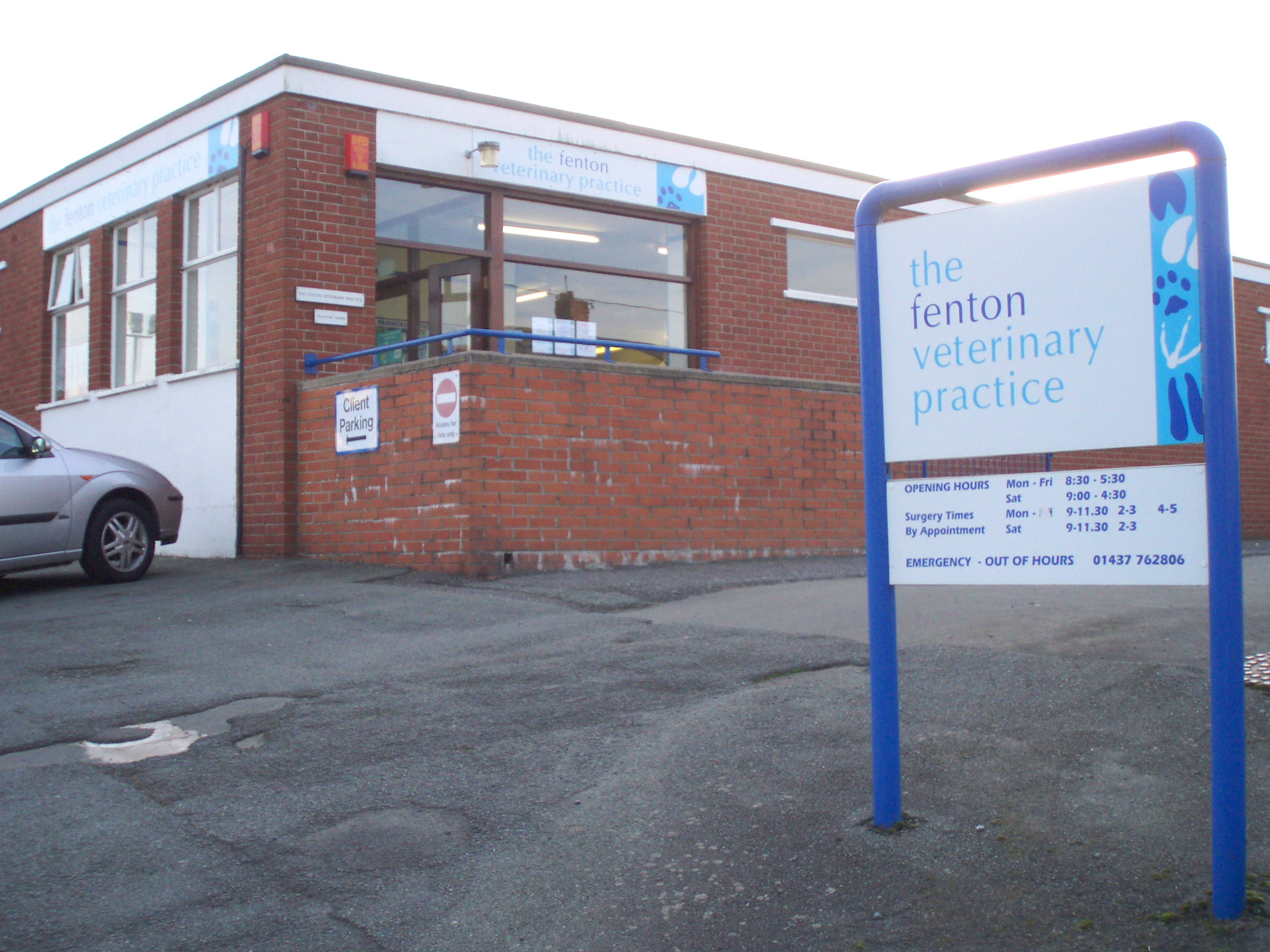 Fenton Vets in 2007