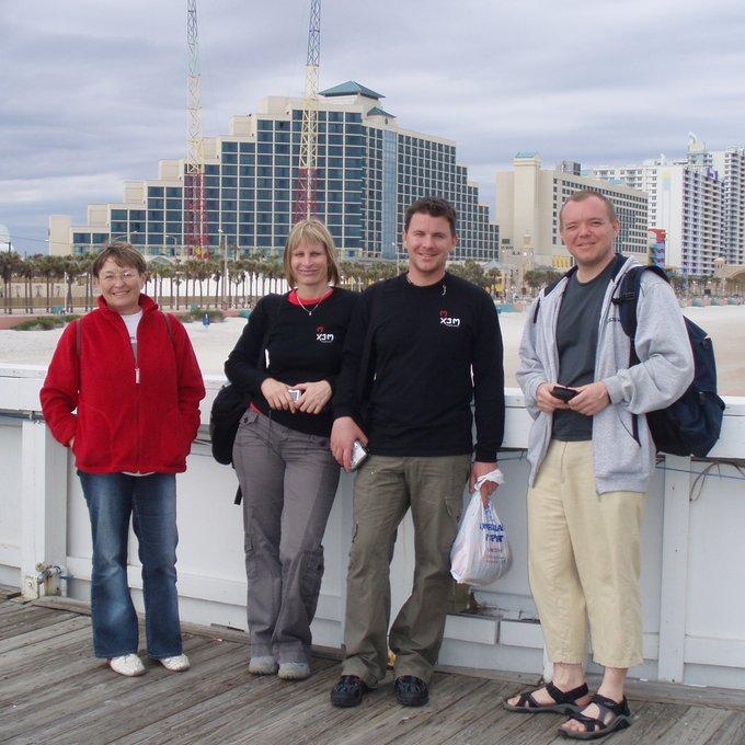 Day 3 in Deland (really spent in Daytona Beach)
