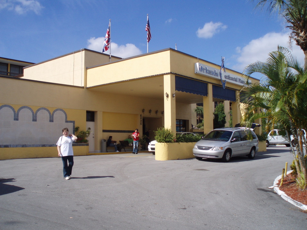 This is the hotel we stayed in