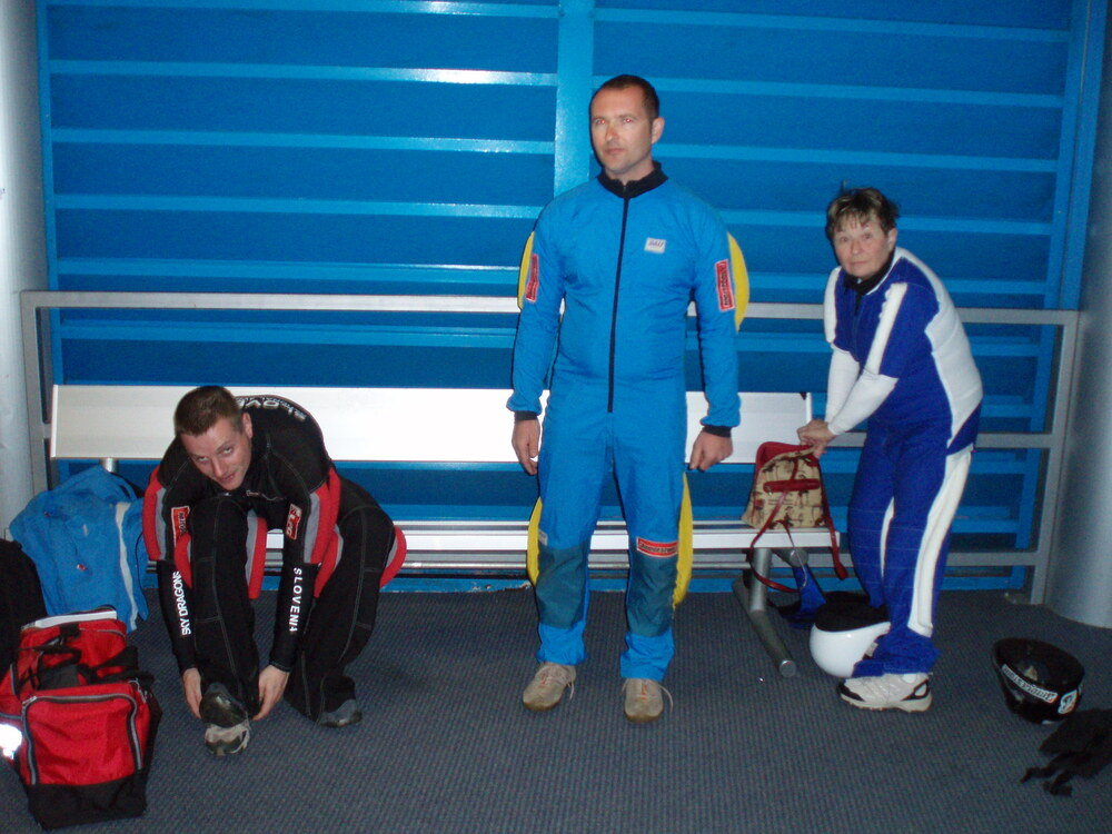 Training in the wind tunnel