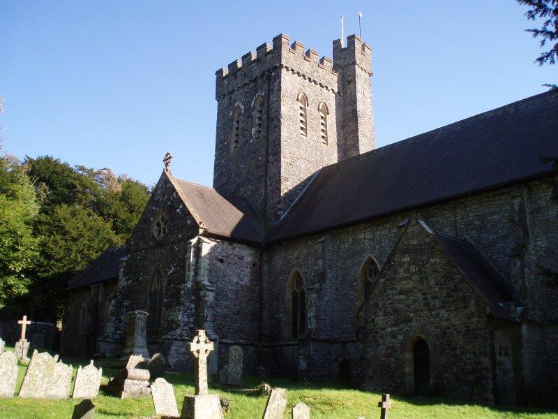 St. Martin's church in Laugharne