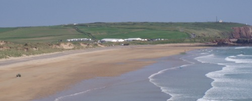 Second location at the south Freshwater West carpark