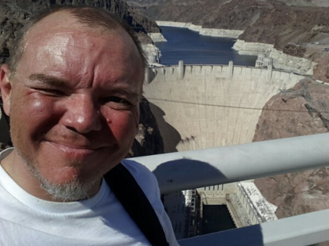 Death Valley, Las Vegas and the Hoover dam - 4 states in one day