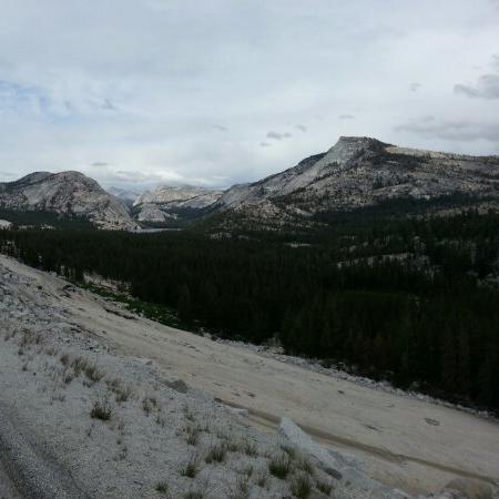San Francisco and the Yosemite national park