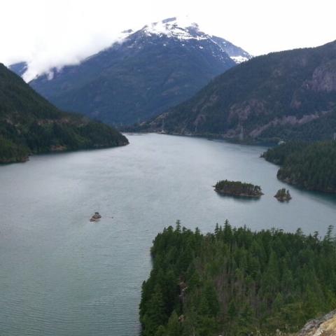 The Cascade mountains