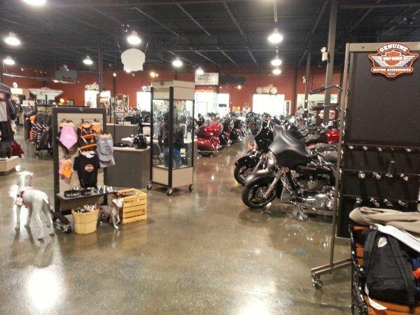 Inside Countryside Harley Davidson