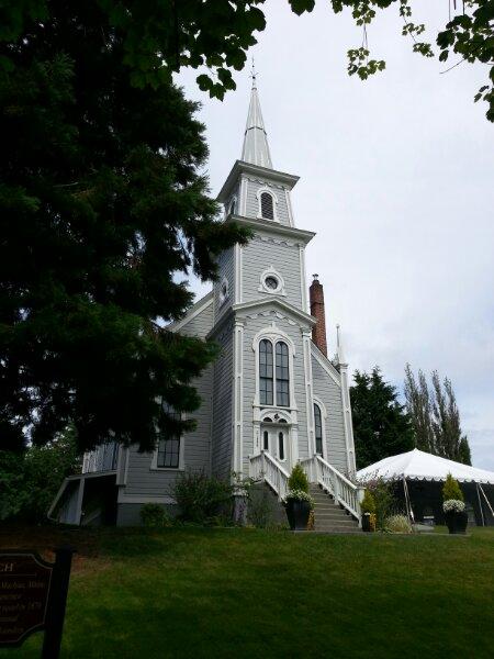 St Johns church in Port Gamble