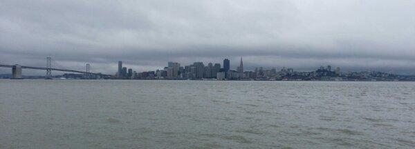 San Francisco from the Treasure Island