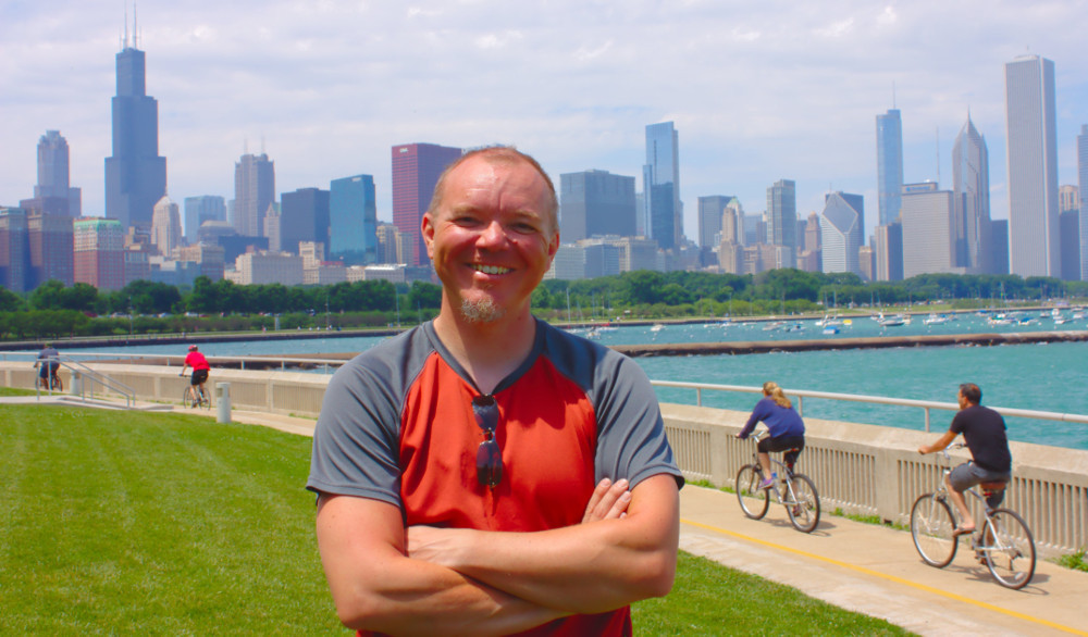 End of the trip in Chicago, Illinois