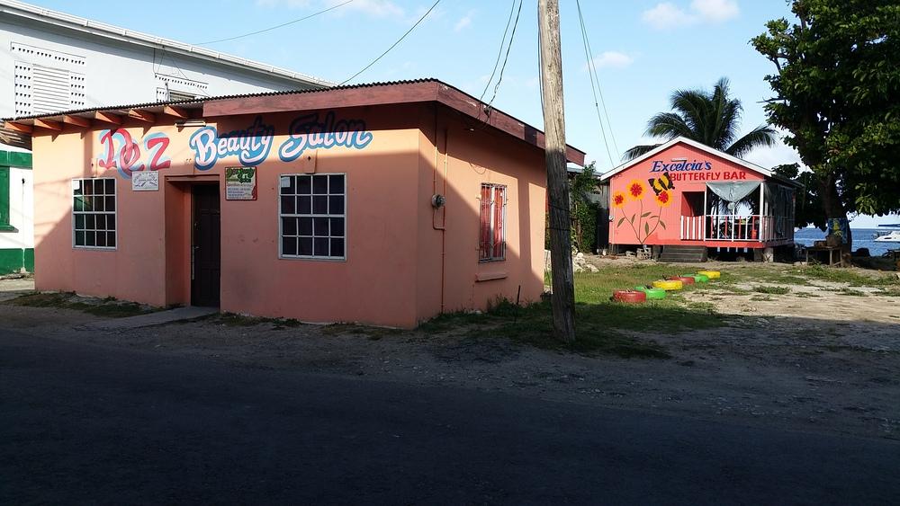 Downtown Hillsborough – the main town on Carriacou
