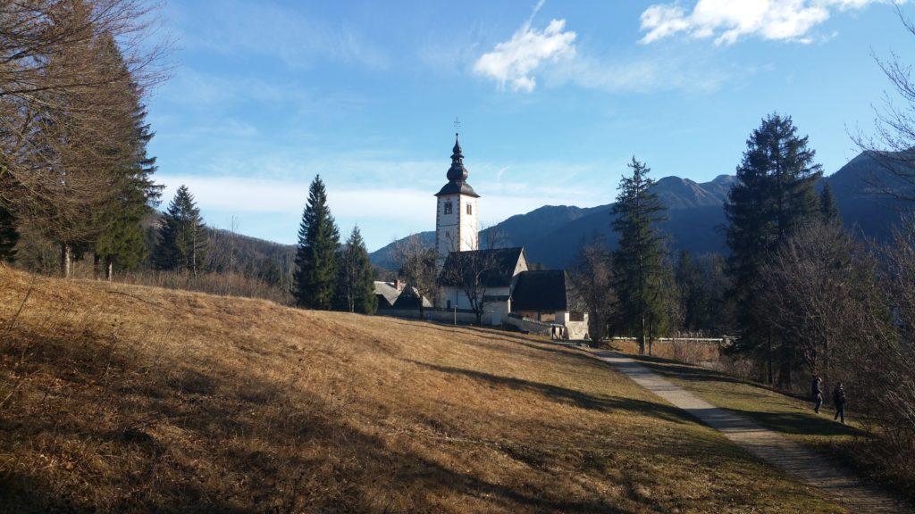 Church of St. John the Baptist in Ribčev Laz