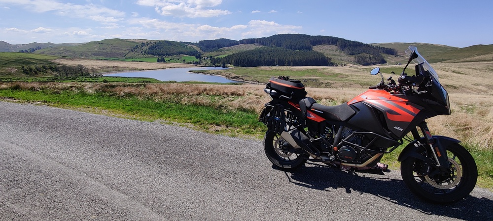 My KTM in Wales in May 2021
