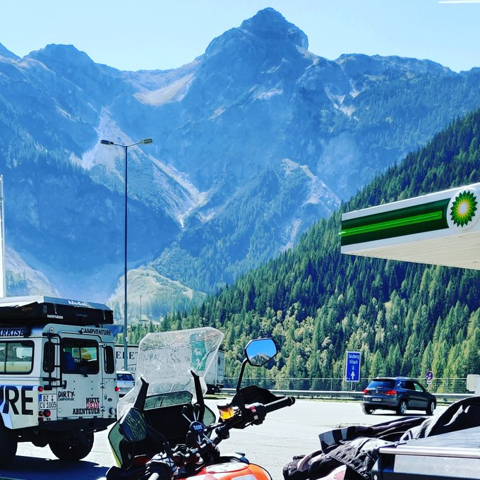 Bike trip to Slovenia 2021